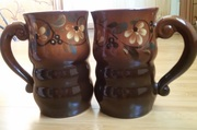 Пивная кружка чашка бокал керамика - 2 шт.